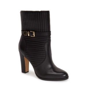 Vince Camuto Black Curtis Heeled Boots
